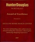 Hunter Douglas Award