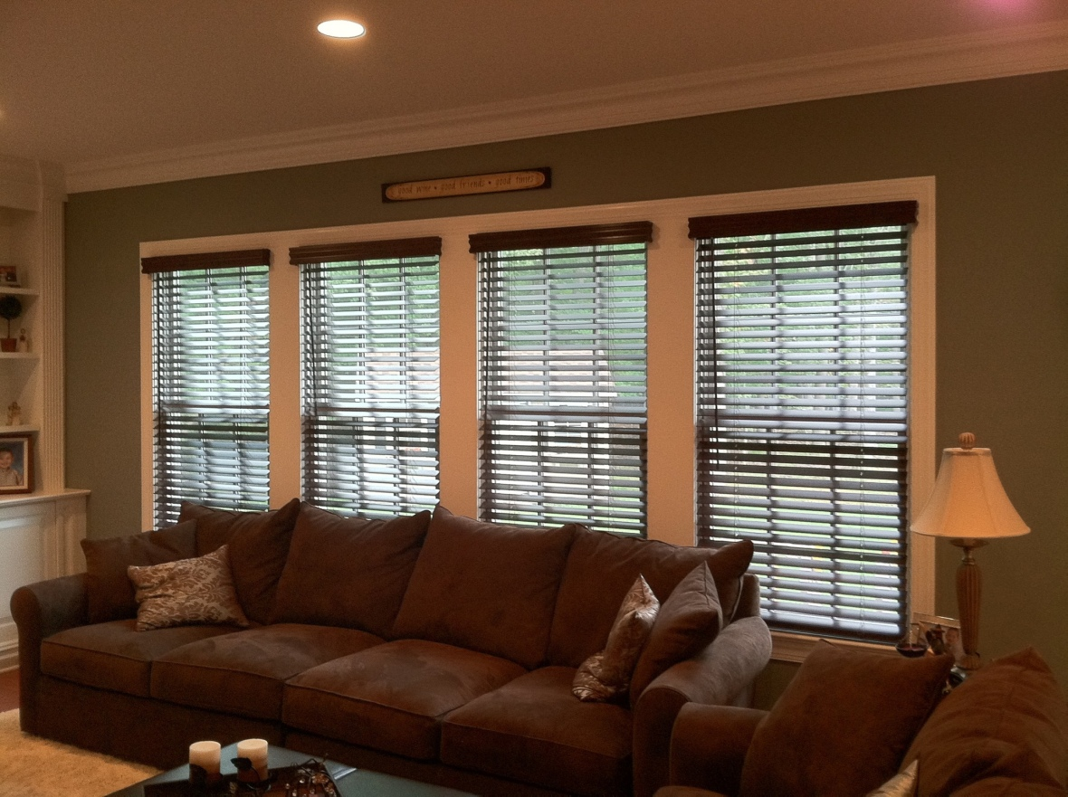 Real or Faux Wood Blinds?